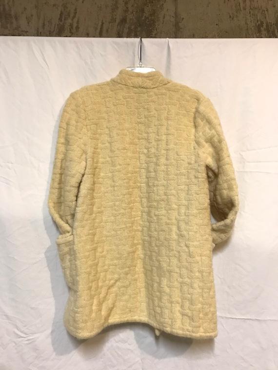 Vintage Mohair sweater jacket