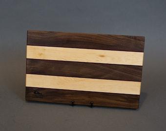Walnut, Maple & Purple Heart Charcuterie/Cutting/Cheese Board