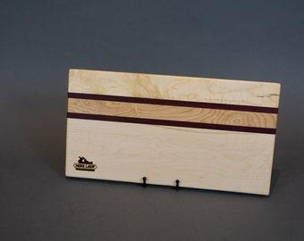 Maple & Purple Heart Charcuterie/Cutting/Cheese Board