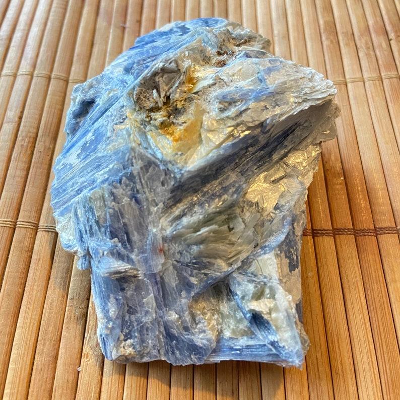 Large Blue Kyanite Raw Blue Kyanite Blue Kyanite Chunk
