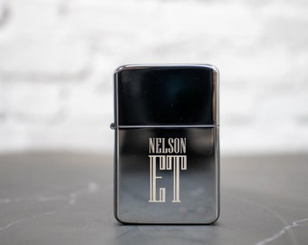 Personalized Lighter Perfect Groomsmen Proposal, Groomsman Gift, Cigar Accessories