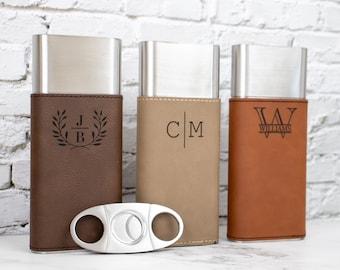 Custom Cigar Case, Personalized Cigar Case, Groomsmen Proposal, Cigar Box, Groomsmen Gifts