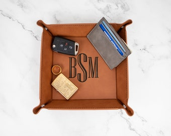 Valet Tray, Coffee Table Tray, Bed Tray, Vanity Tray, Catch All Tray, Personalized Snap Up Tray, Groomsmen Proposal