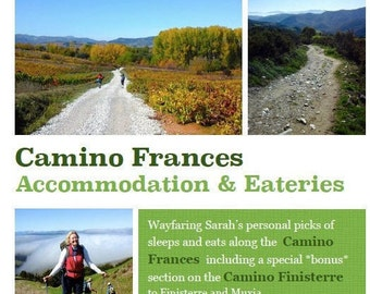 Camino Frances Accommodation and Eateries - ebook travel guide
