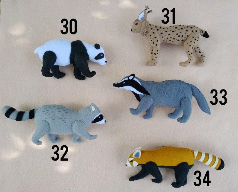 Animals chain pram garland with chameleon,turtle and tree frog,Pram garland,Felt stroller toy,Stroller mobile,kinderwagenkette tiere filz