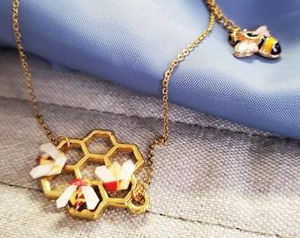 Gold Washi Paper Threader Earrings Elegant Insect Earrings Asymmetrical Black Gold Waves Triple Swallowtail Butterfly Threader Earrings