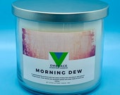 Morning Dew - 18oz 3 Wick Scented Soy Candle