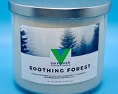 Soothing Forest - 18oz 3 Wick Scented Soy Candle