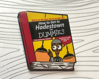 Hadestown For Dummies Enamel Pin