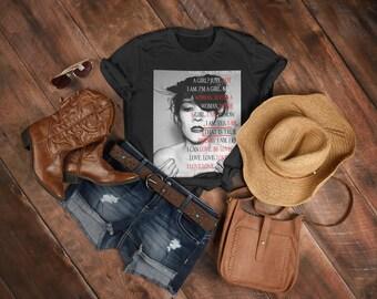 80s Girl Shirt | Underground Hip-Hop Gift | 90s girl punk rock | Shoegaze T-shirt | Dream Pop Tshirt | 90s vibe shirt | Punk Rock T-shirt