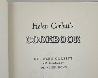 Helen Corbitt's Cookbook by Helen Corbitt - 1957 - Vintage Cookbook - Mid-Century Book