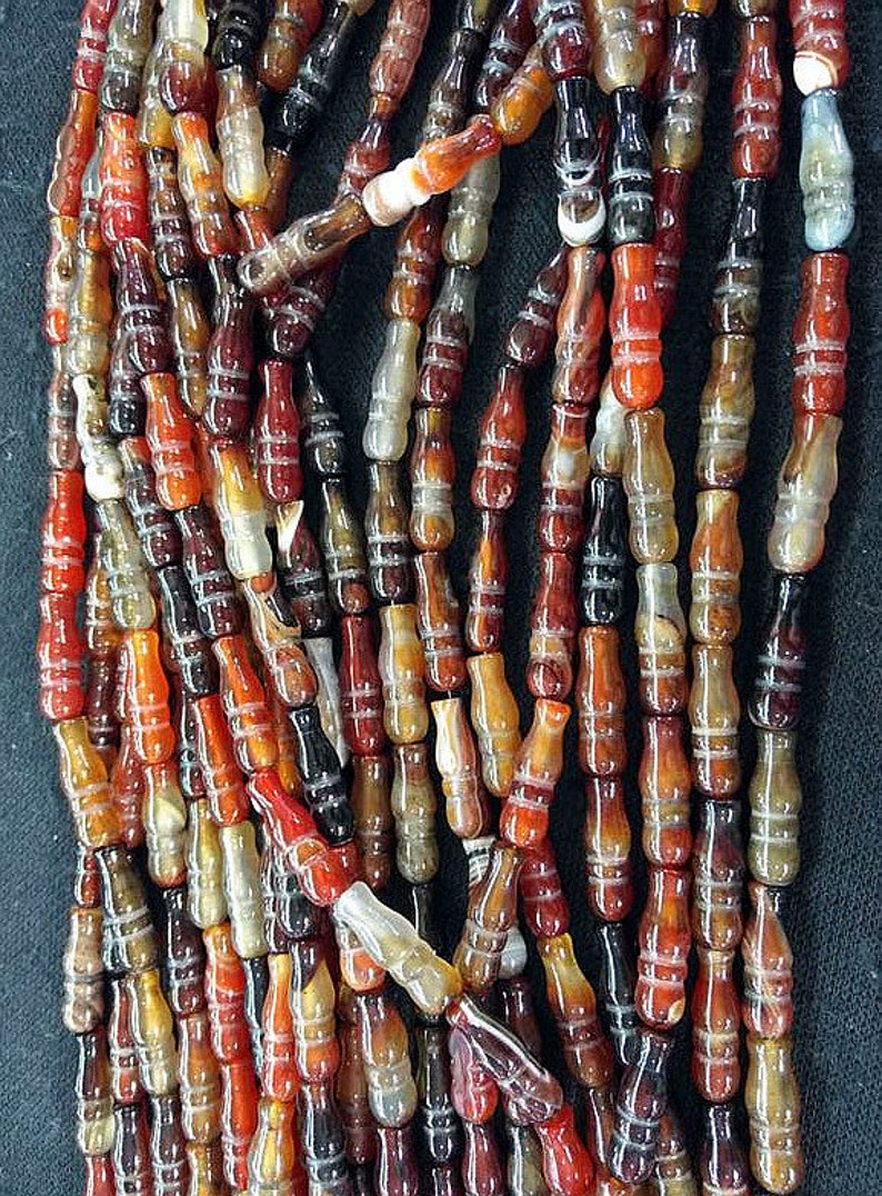 Warm warm colors--20mm Genuine onyx Antique black Brown Red tibetan Dzi agate,bottle carved beads,home decro,wall,jewelry