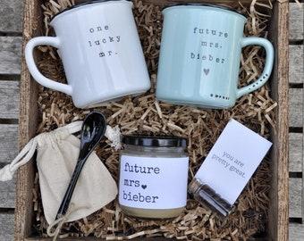 Engagement Gift Basket Etsy