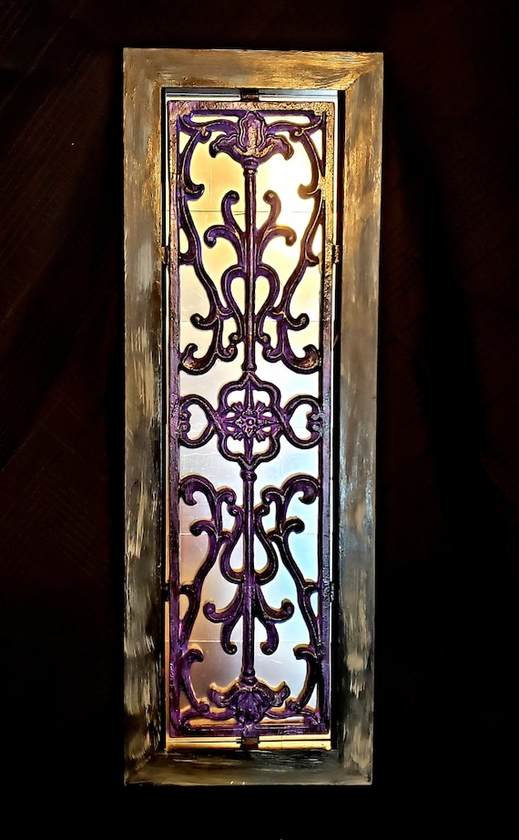 Wrought Iron Accent