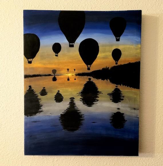 Silhouettes Aloft (commission)