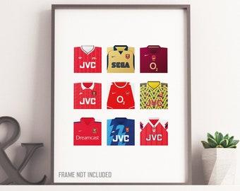 Arsenal Classic Shirts Print