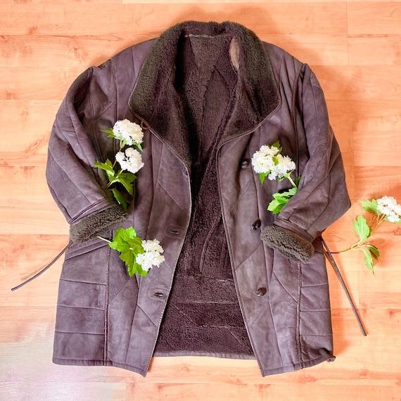 Vintage Fur PENNYLANE GREY AFGHAN Coat - image 2
