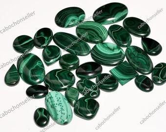 Weight 111 Carat . Malachite Cabochon For Make Jewellry Natural Malachite Loose Gemstone Green Stone Malachite Cab Natural Gemstone