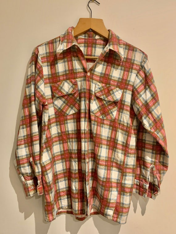 70s Flannel Shirt
