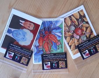Trio of Postcards - Pack 1