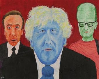 Boris & Friends - A4 print