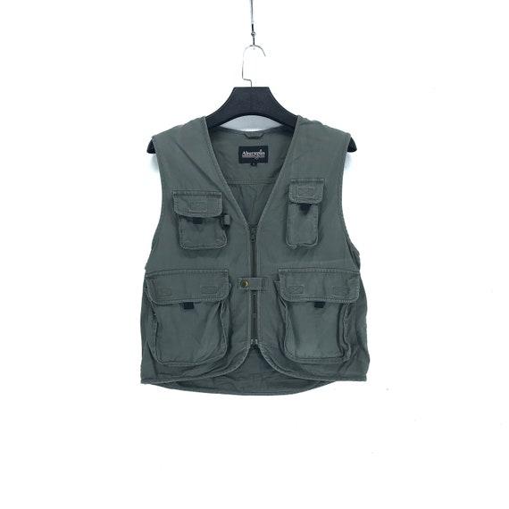 Vintage ABURAYSIA Vest Multi Pocket Vest Fishing V