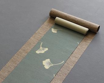 Cotton and Linen Tea Table Cloth, Tea Mat, Tea Set Accessory, Table Runners