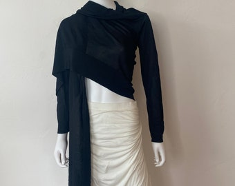 Herve Leger Long Front Shawl Size: M