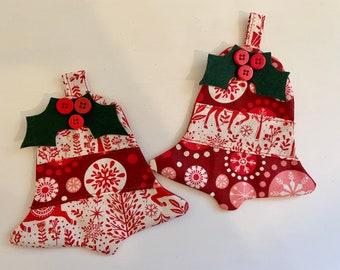 Jingle Bell Coaster/Ornament (2)
