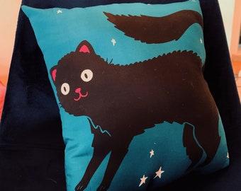Halloween Cat Pillows