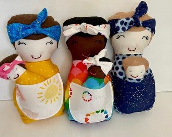 Mama and Baby Dolls