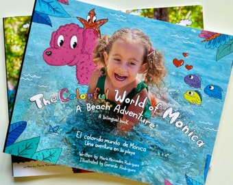 The Colorful World of Monica - Book series