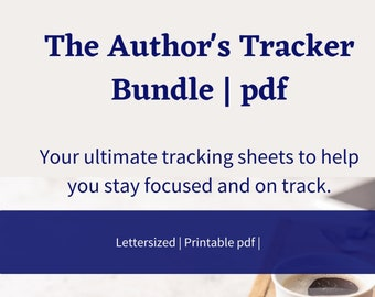 Authors | Writers | Word Count Tracker | Instant Download | Trackers | Planning