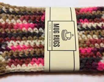 Crochet Coffee Drink Mug Rug Coaster
