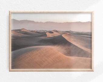 Desert Landscape Print   Desert Wall Art   Sahara Photography   Digital Download   Horizontal Print