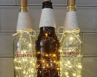 20 Bright Ideas DIY Wine & Beer Bottle Chandeliers Big DIY