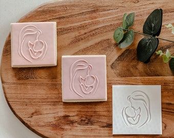 Up Mum & Baby Stamp   Cookie tool  Cookie Stamp  Fondant Embosser   biscuit cutter   Birthday gift   Gift   Movie