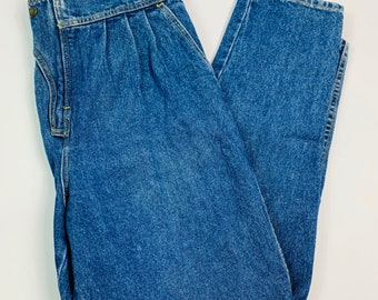 XSS 80/'s90/'s vintage denim mum style jeans by Japan