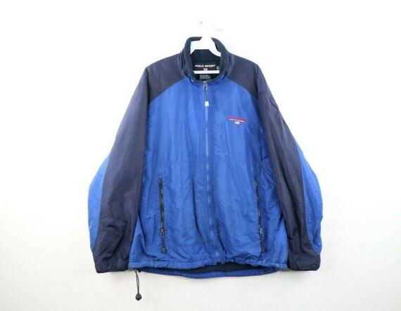 90s Polo Sport Ralph Lauren Mens L USA Flag Spell