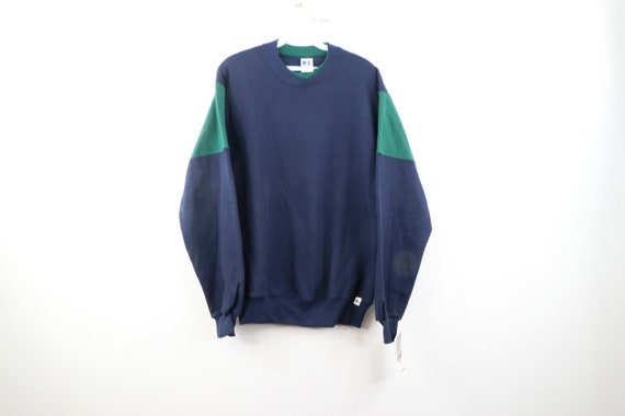 NOS 90s Russell Athletic Mens S Football Style Dou