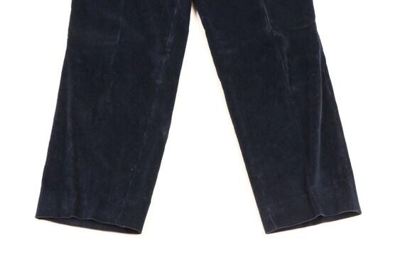70s Rockabilly Mens 34x29 Straight Leg Faded Cord… - image 3