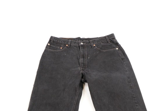 Vintage 90s Levis 550 Relaxed Fit Distressed Fade… - image 2
