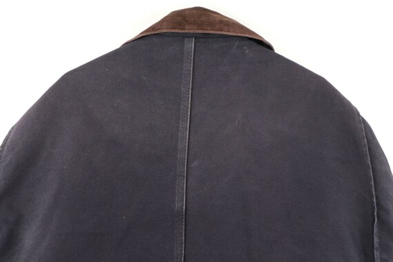 90s Carhartt Mens 2XL Spell Out Corduroy Collar D… - image 10