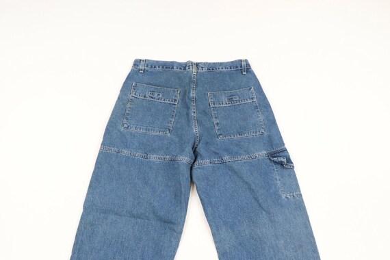 Vintage 90s Levis Wide Leg Baggy Fit Distressed D… - image 6