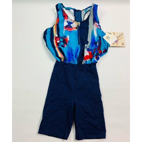 Deadstock 90s Womens Small Abstract Jazzercise Bod