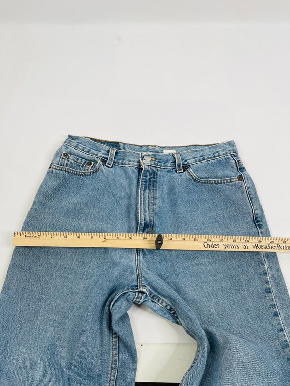 90s Levis 512 Slim Fit Tapered Leg Jeans Womens 1… - image 2