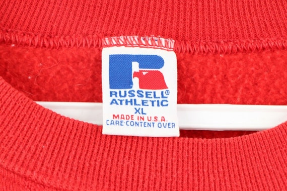90s Russell Athletic Mens XL Springfield Baseball… - image 4