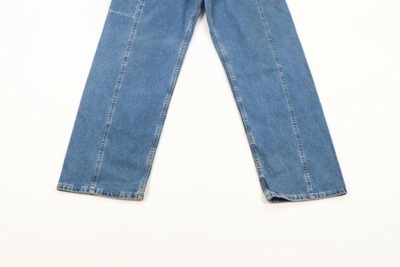 Vintage 90s Levis Wide Leg Baggy Fit Distressed D… - image 3