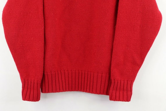 80s Ralph Lauren Womens Large Spell Out Crest Dou… - image 3