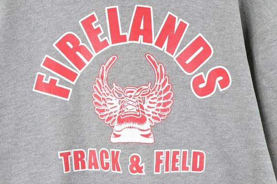 90s Russell Athletic Mens Medium Firelands Track … - image 4